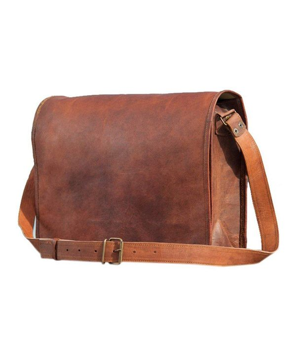 4b01ba0358 Messenger Handmade Bag Laptop Bag Satchel Bag Padded Messenger Bag School  Bag 15X11X4 Inches